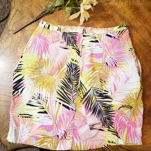 H&M Skirts - H & M tropical print wrap skirt Size 6